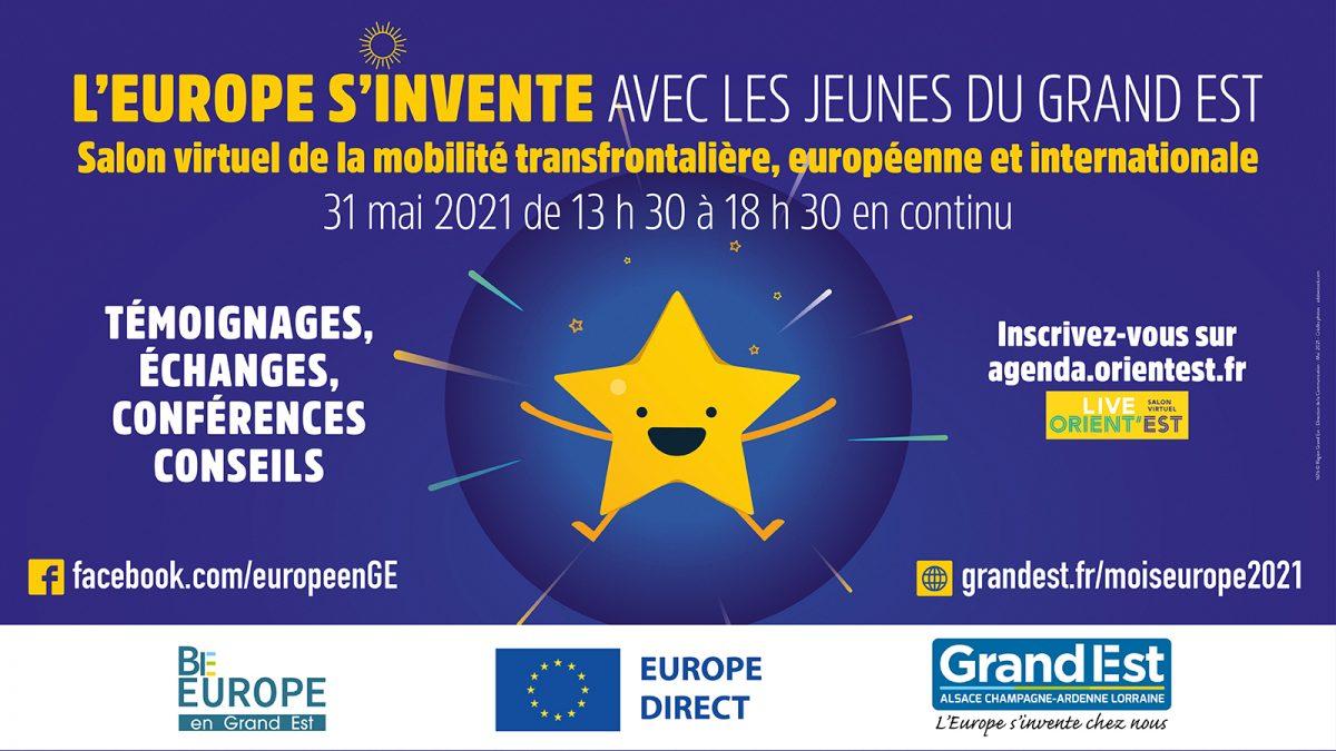 """Journée """"L'Europe s'invente avec les jeunes du Grand Est"""""""