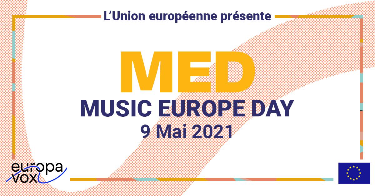 #MusicEuropeDay, le E-Festival de la Journée de l'Europe