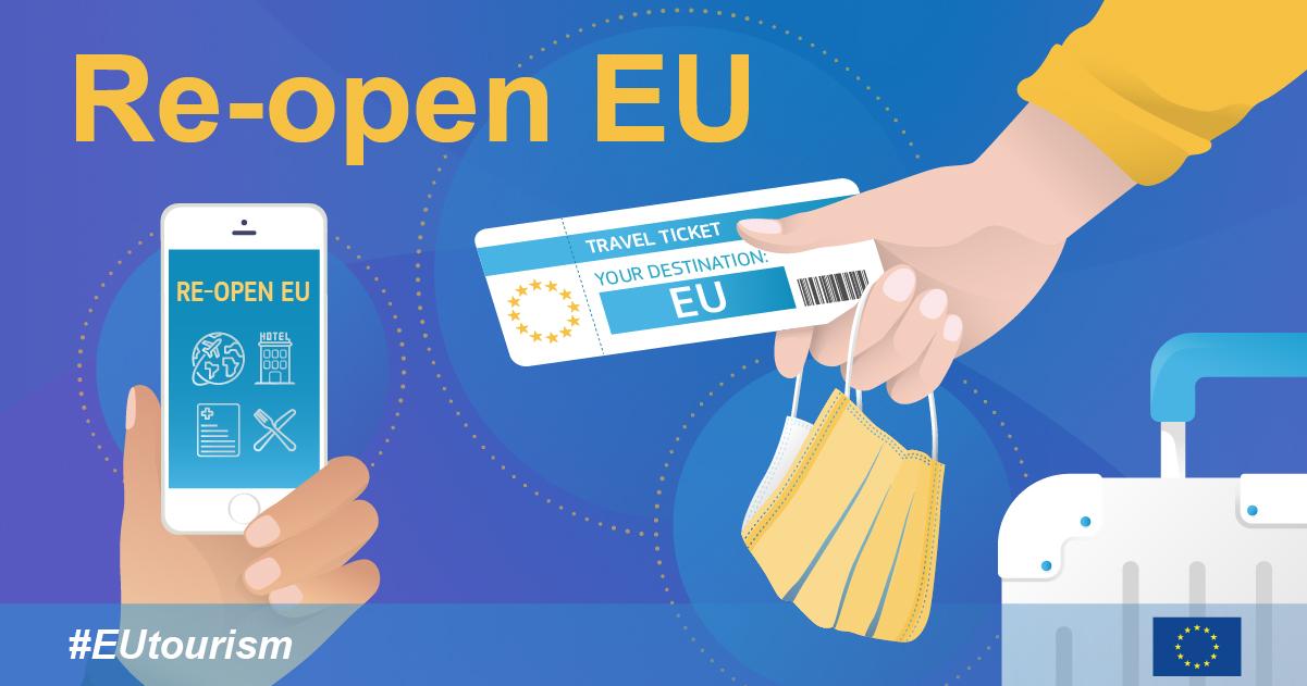 Planifiez votre voyage en Europe avec Re-open EU