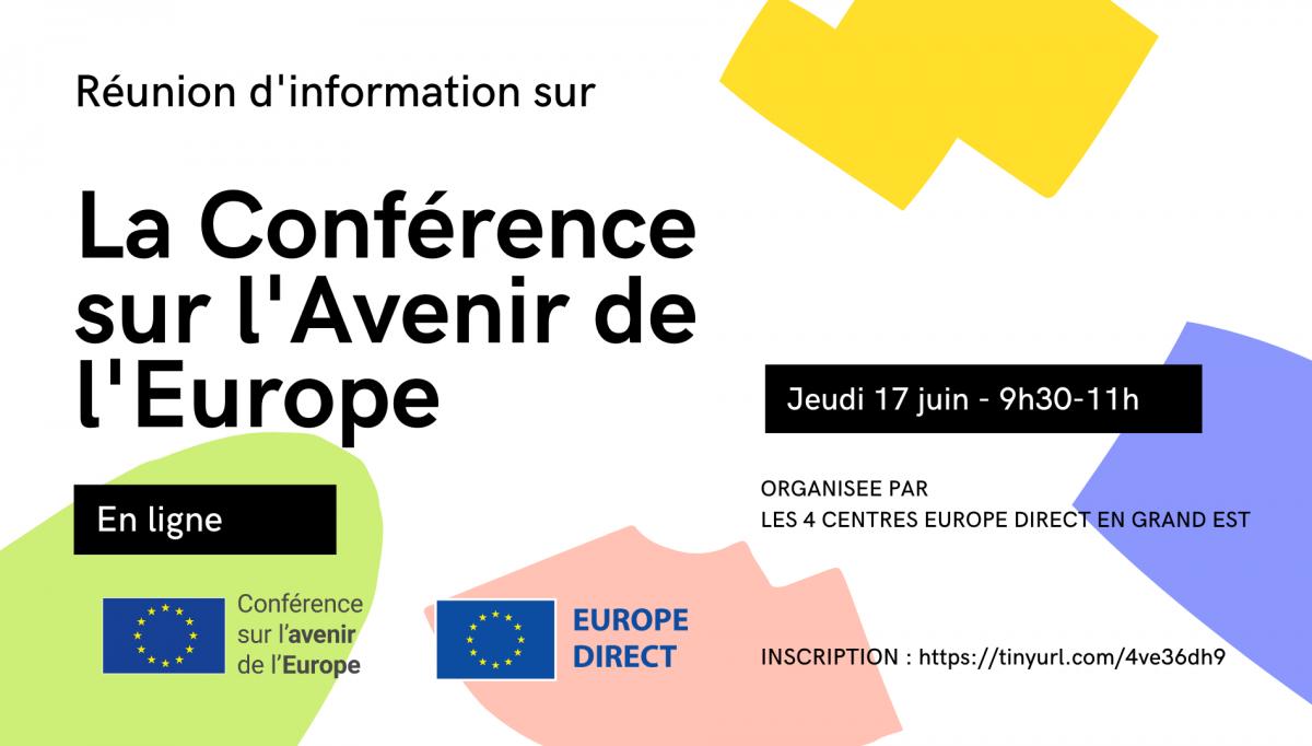 Réunion d'information sur la Conférence sur l'Avenir de l'Europe