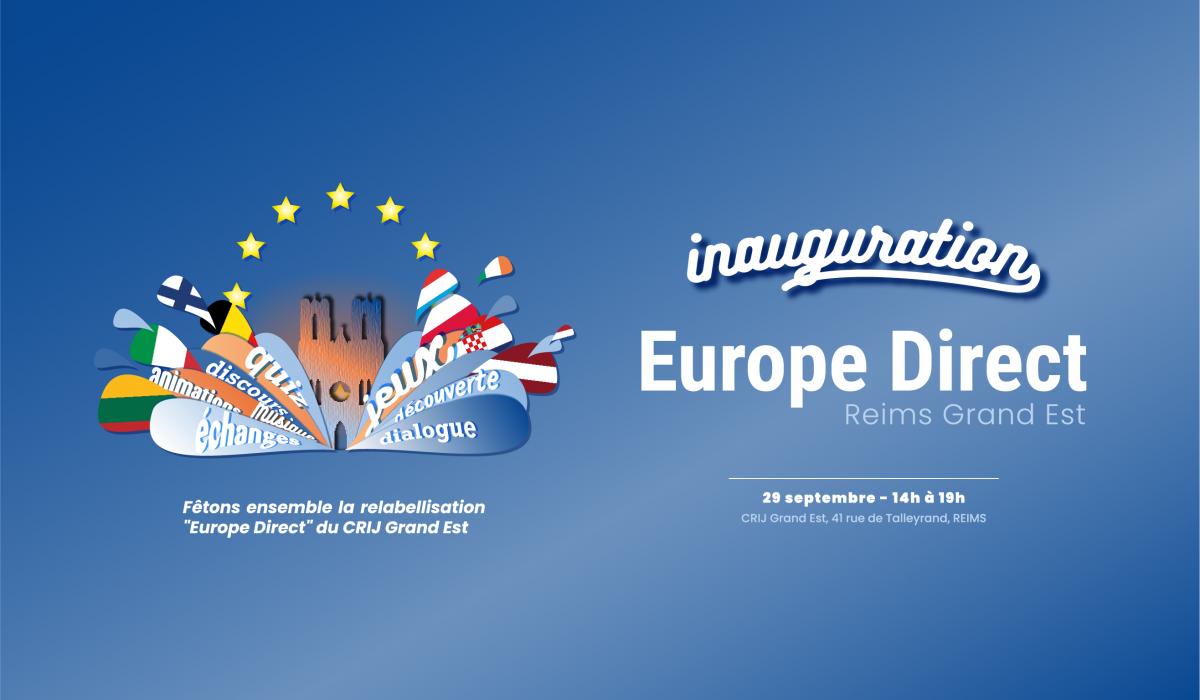 Renouvellement du label Europe Direct de notre centre d'information jeunesse