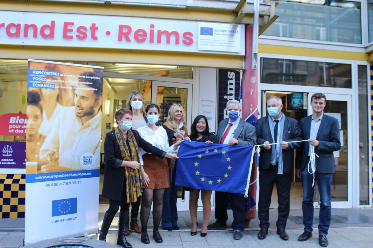 Retour sur l'inauguration de notre centre EUROPE DIRECT